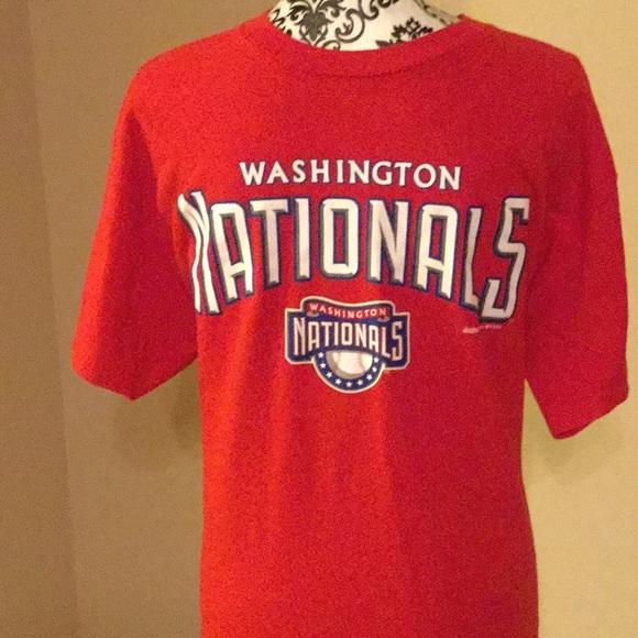Washington Nationals Red Large t shirt. Boutique. Stitches.  M 5a41b70136b9de37b1041964. M 5a41b70b36b9def13104197d.  M 5a41b7349a9455a78104139f abe60c663